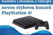 Zapojte se s Deníkem do soutěže a vyhrajte novou stylovou konzoli PlayStation 4!