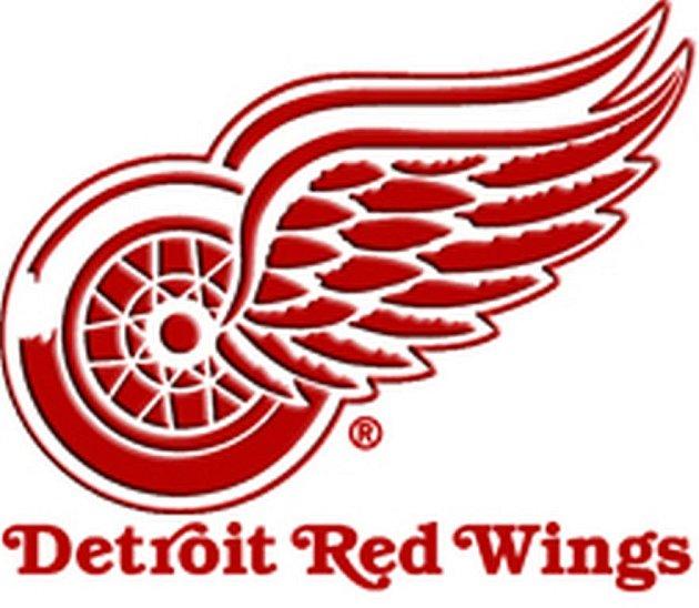 Znak hokejového klubu Detroit Red Wings.