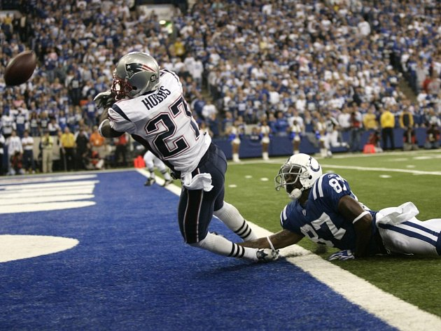 New England Patriots versus Indianapolis Colts