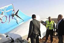Ruské civilní letadlo s 224 lidmi na palubě se dnes zřítilo v centrální části Sinajského poloostrova, neštěstí nikdo nepřežil.