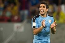 Luis Suárez rozhodl o remíze Uruguaye v Brazílii