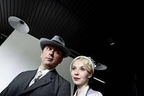 Herci Marek Daniel a Jana Plodková z filmu Protektor na setkání s novináři
