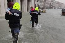Benátky pod vodou.