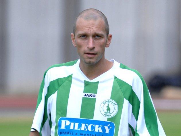 Martin Zbončák se objevil poprvé na levé straně zálohy Bohemians Praha v zápase s Plzní.