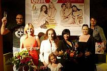 Časopis Glanc pokřtil 8. června v Praze své nové číslo.