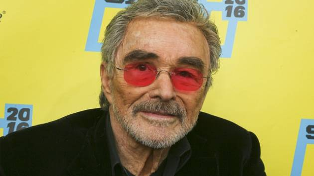 Hollywoodská legenda Burt Reynolds.