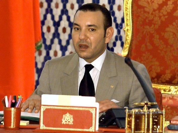 Muhamad VI., král Maroka.