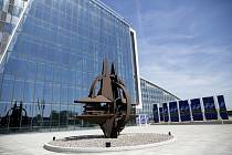 Sídlo NATO v Bruselu.