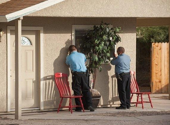 Dům v americkém Tucsonu, kde byly sestry drženy a zneužívány.
