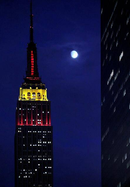 Empire State Building v New Yorku.