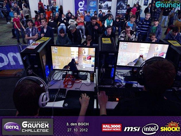 Počítačový turnaj BenQ Grunex Challenge v Praze.