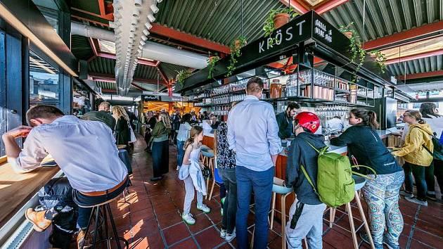 Islandský obchodní dům s potravinami Hlemmur Food Hall