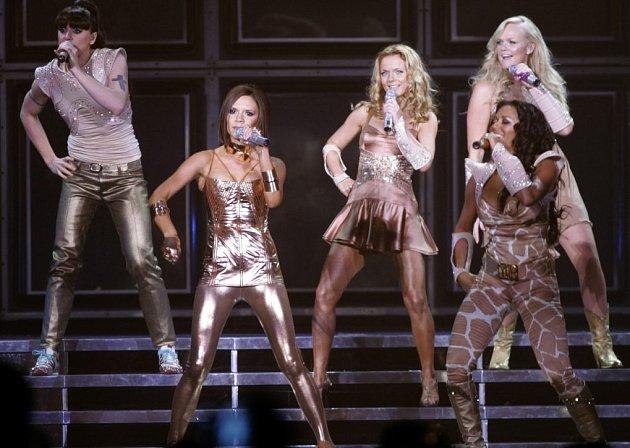 Koncert kapely  Spice Girls v Londýně