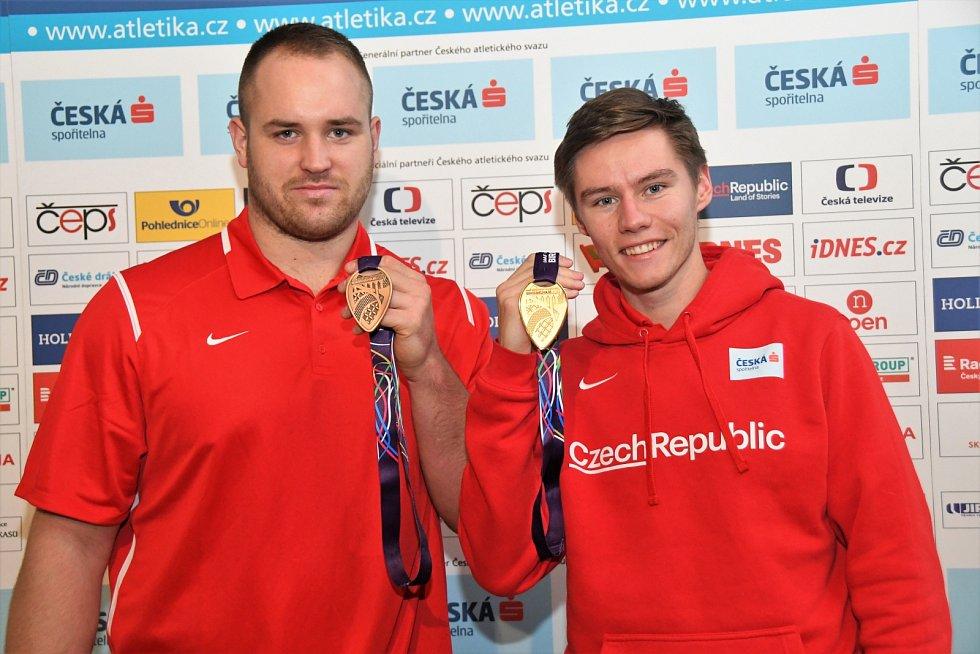 Pavel Maslák (nebo) Tomáš Staněk už mají z halových šampionátů několik medailí.