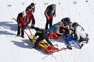 Norský skokan na lyžích Daniel André Tande skončil ve zkušebním kole podniku světového poháru v letech na lyžích v Planici v kotrmelcích…
