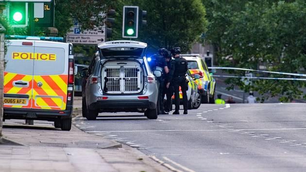 Policie v anglickém Readingu
