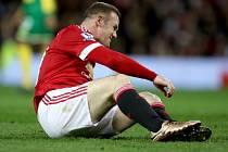Manchester United - Norwich: Wayne Rooney a jeho zklamání