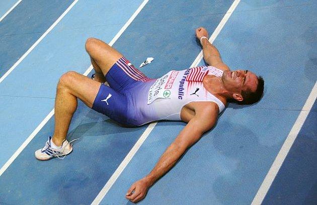 Roman Šebrle vybojoval v Paříži bronzovou medaili.