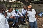 Studenti střední školy Al-Haramain v tanzanském městě Dar es Salaam