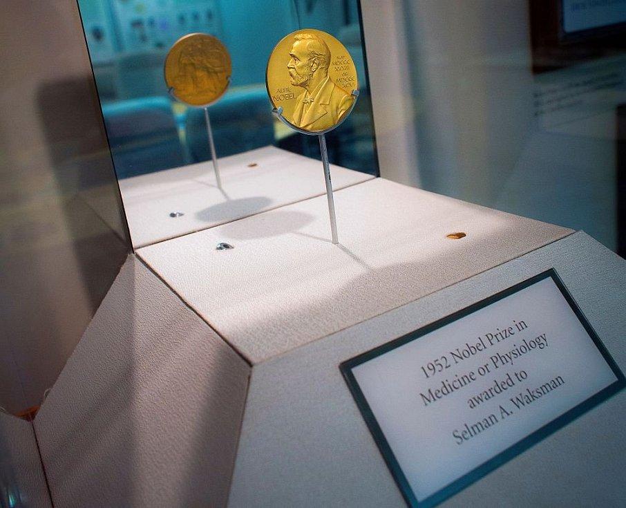 Profesor Selman Waksman získal Nobelovu cenu za lékařství za rok 1952