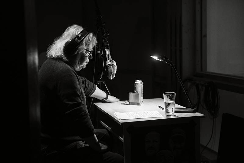 Z nahrávání nového alba Vladimíra Mišíka