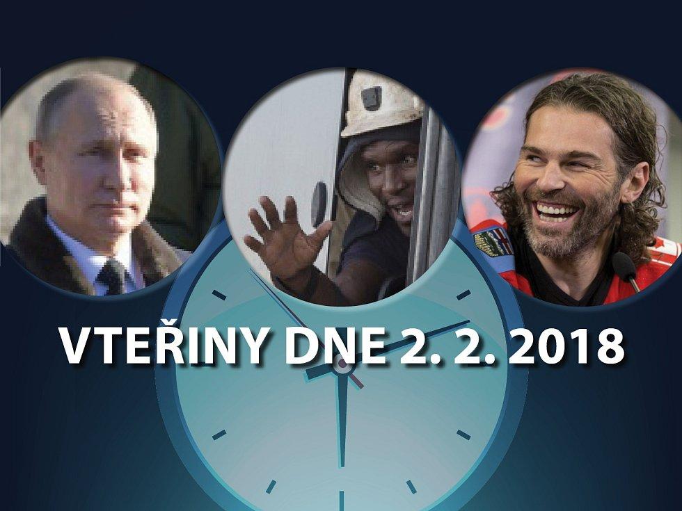 Vteřiny dne 2. února 2018