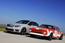 Škoda slaví 40 let vozů RS.