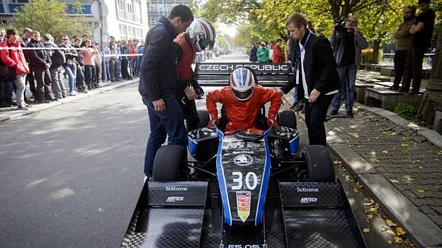 Den s formulemi ČVUT, při kterém studenti představili dvě zcela nové formule, proběhl 15. října v Praze.
