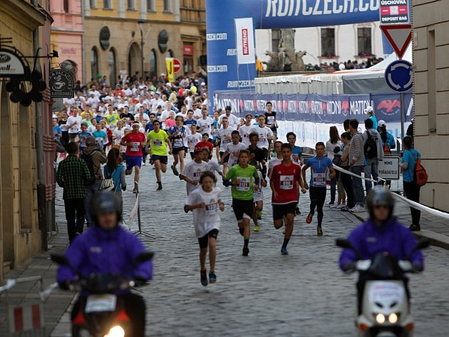 Půlmaraton v Olomouci
