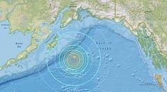 Zemětřesení u břehů Aljašky