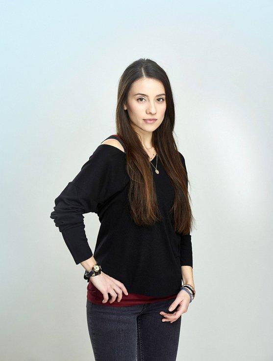 """""""Moje role v seriálu byla souhrou náhod a štěstí,"""" říká Barbora Černá"""