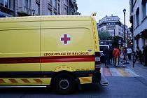 Belgická ambulance. Ilustrační snímek