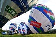 Brno 09.06.2017 - let balónem od brněnské přehrady  s přistáním v Drásově na brněnsku