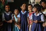Milí školáci vIndii