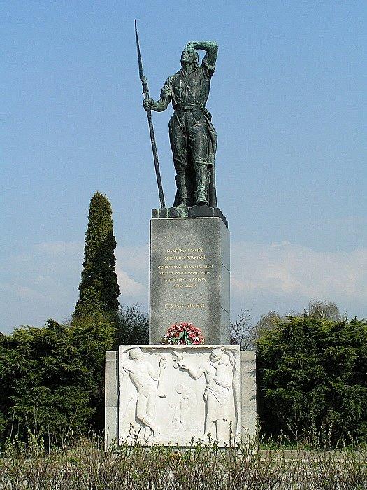 Památník selského povstání v Chlumci nad Cidlinou v roce 1775