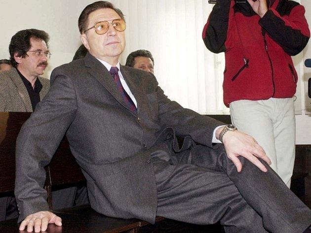 Poslední šéf československé komunistické tajné policie (StB) Alojz Lorenc.