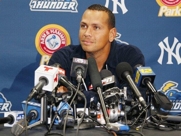 Baseballista Alex Rodriguez dostal za doping rekordní trest na 211 zápasů.