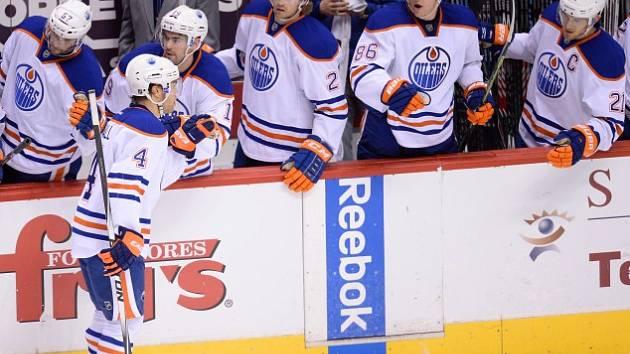 Hokejisté Edmontonu. Ilustrační foto.