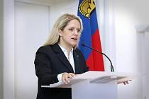 Šéfka lichtenštejnské diplomacie Katrin Eggenbergerová informovala 19. srpna 2020 ve Vaduzu o rozhodnutí lichtenštejnské vlády obrátit se kvůli sporu o majetek v Česku vyvlastněný rodu Lichtenštejnů po druhé světové válce na Evropský soud pro lidská práva