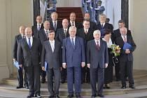 Vláda Jiřího Rusnoka s prezidentem Zemanem