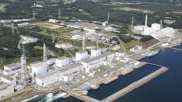 Japonská elektrárna Fukušima.