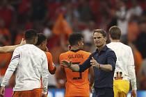 Trenér fotbalistů Nizozemska Frank de Boer.