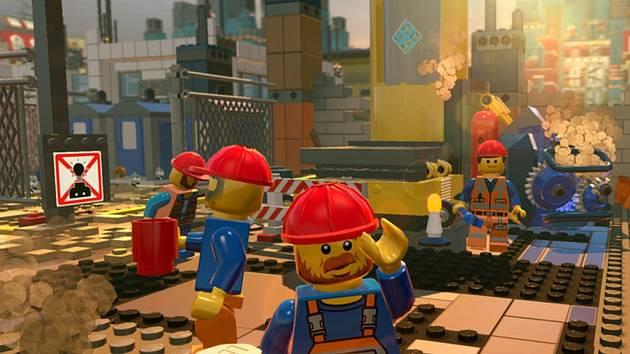 Počítačová hra Lego Movie.