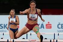 Zuzana Hejnová na atletickém mistrovství republiky