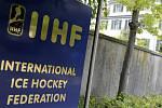 Sídlo organizace Mazinárodní hokejové federace v Curychu.