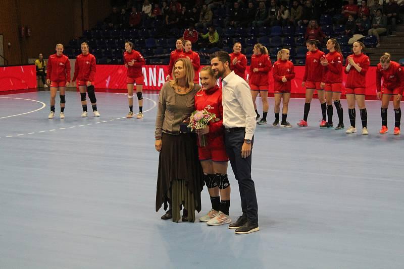 Nejlepší česká házenkářka ročníku 2020/2021 Jana Knedlíková.