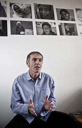 Projektový manažer společnosti Člověk vtísni Karel Strachota.