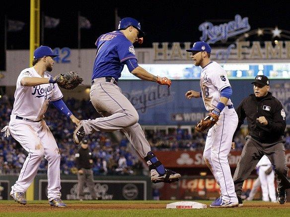 Baseballisté Kansas City Royals vstoupili do Světové série výhrou