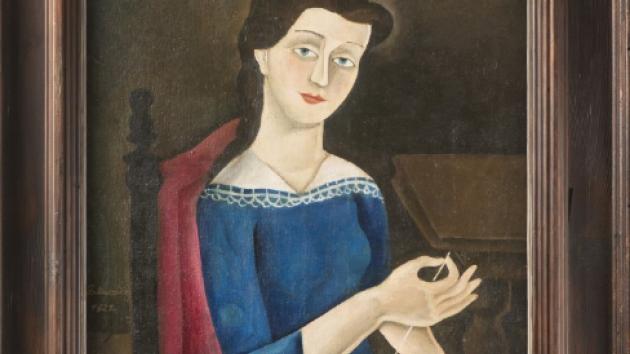 Obraz Švadlena od Františka Muziky