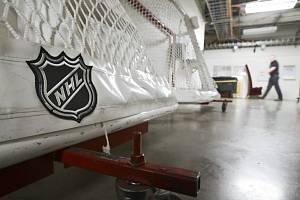 Logo hokejové NHL - ilustrační foto.